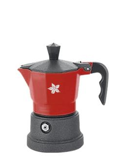 Espresso Stove Maker (red - 1 cup)